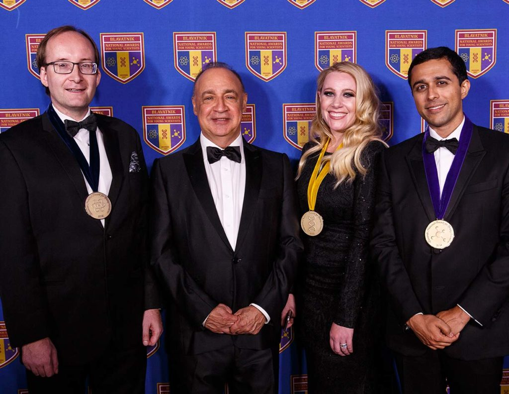 Len Blavatnik with the 2018 national Laureates
